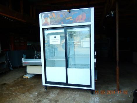 frigo vitr 2 portes recyclage industriel. Black Bedroom Furniture Sets. Home Design Ideas
