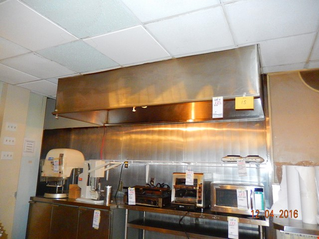 Hotte de cuisine recyclage industriel - Hotte de cuisine stainless ...